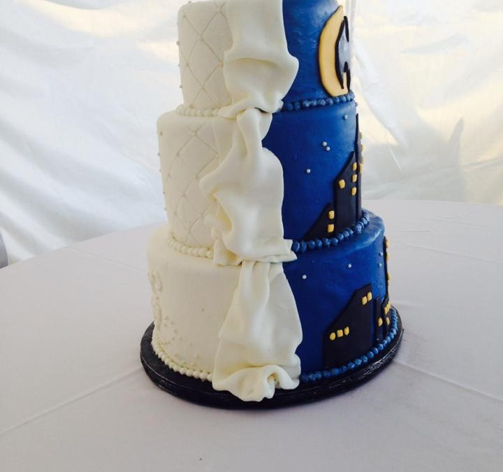 His/Her Wedding Engagement Cake 44 - Oh 4 Goodness Cakes - Susan Hokansen - Custom Cakes Lakeland Florida - Central Florida - Custom Pastries