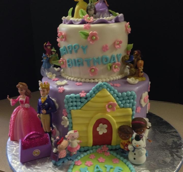 Princess Cake 43- Oh 4 Goodness Cakes - Susan Hokansen - Custom Cakes Lakeland Florida - Central Florida - Custom Pastries